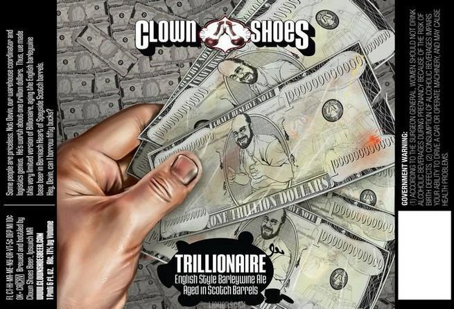 Clown Shoes Trillionaire Scotch Barrel Aged Barleywine
