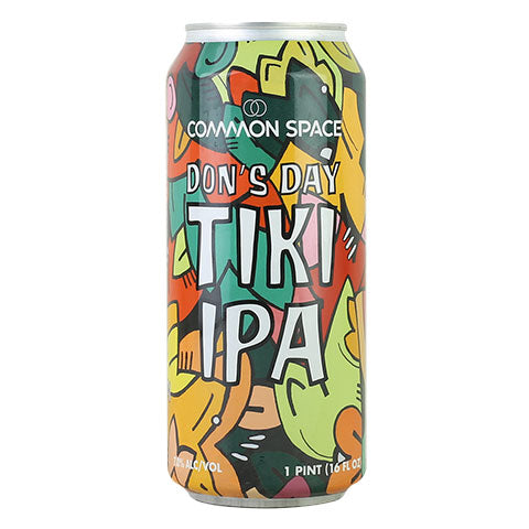 Common Space / Beachwood Don's Day Tiki IPA