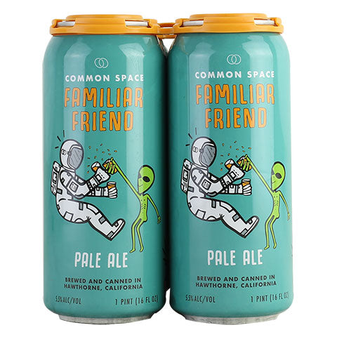 Common Space Familiar Friend Pale Ale