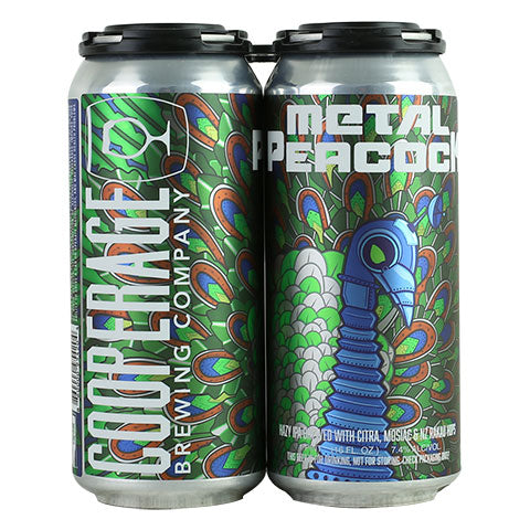 Cooperage Metal Peacock Hazy IPA