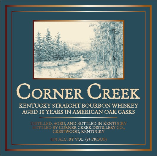 Corner Creek 10 Year Kentucky Straight Bourbon Whiskey
