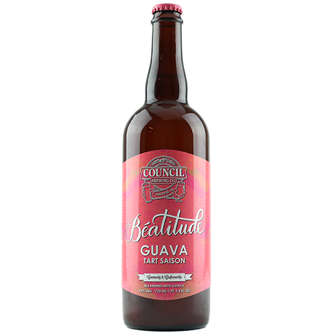 Council Beatitude Guava Tart Saison