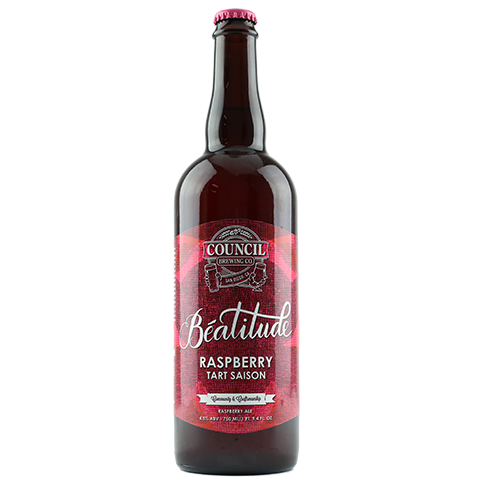 Council Beatitude Raspberry Tart Saison