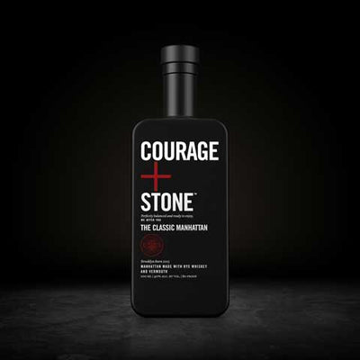 Courage + Stone The Classic Manhattan American Whiskey