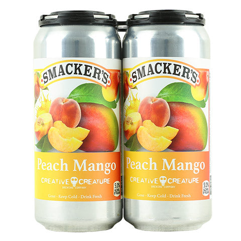 Creative Creature Peach Mango Smackers Sour Gose