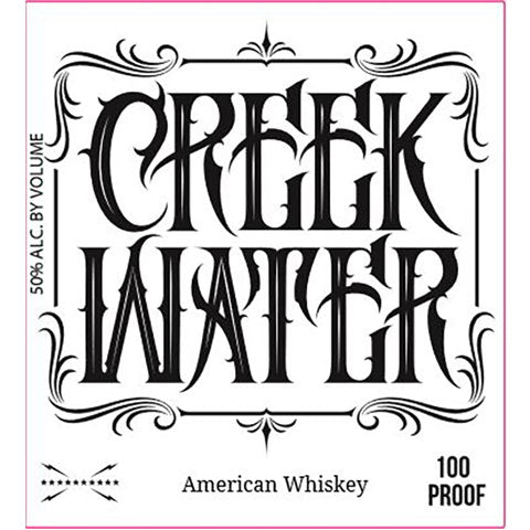 Creek Water 100 Proof American Whiskey