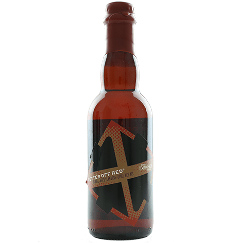 Crux BANISHED Better Off Red Barrel-Aged Flanders Red Ale