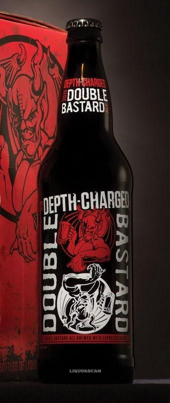 Depth-Charged Double Bastard Ale / Arrogant Bastard Ale 4-Pack