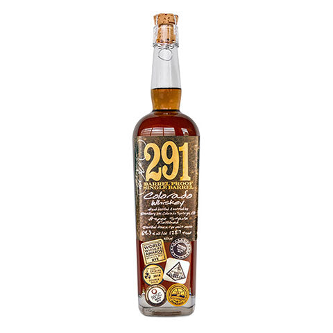 Distillery 291 Barrel Proof Colorado Whiskey