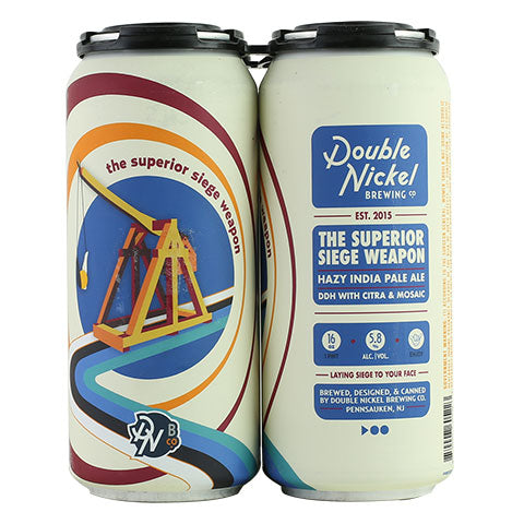 Double Nickel Superior Siege Weapon Hazy IPA