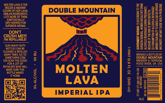 Double Mountain Molten Lava Double IPA
