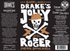 Drake's Barrel-Aged Jolly Rodger 2015 Imperial Coffee Porter / Jolly Rodger 2015 2PK