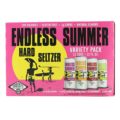 Endless Summer Hard Seltzer Variety 12-Pack