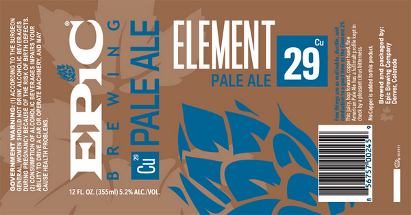 Epic Element 29 Pale Ale