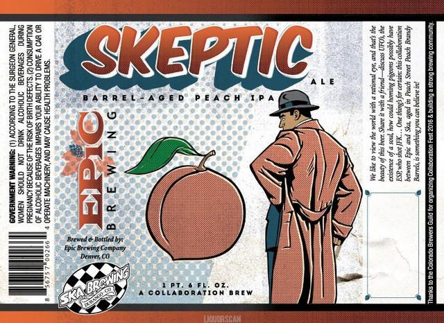 Epic / SKA Skeptic Brandy Barrel-Aged IPA