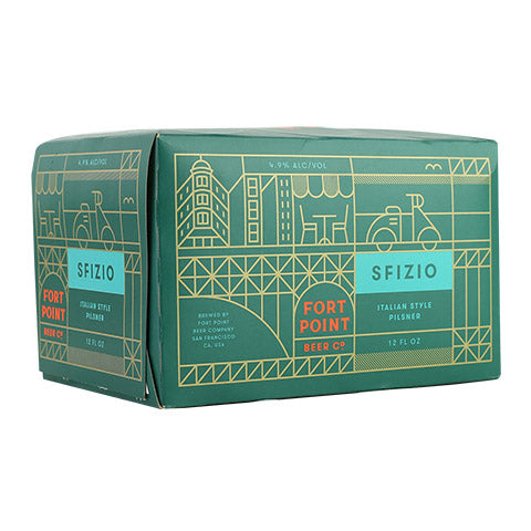 Fort Point Sfizio Pilsner