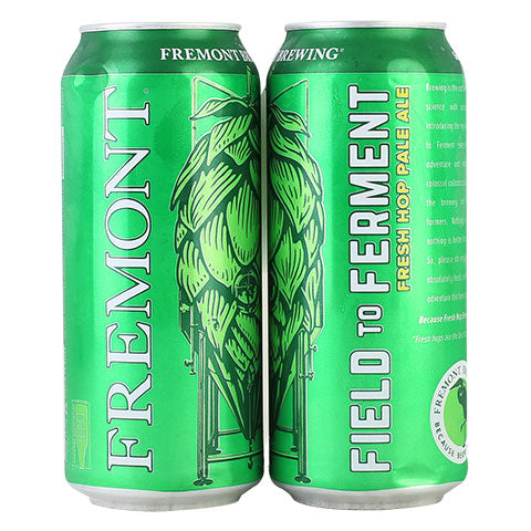 Fremont Field To Ferment Fresh Hops Pale Ale