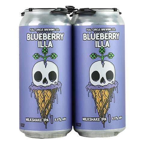 Full Circle Blueberry Illa Milkshake IPA