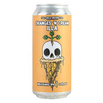 Full Circle Orange 'N Cream Illa Vanilla Milkshake IPA
