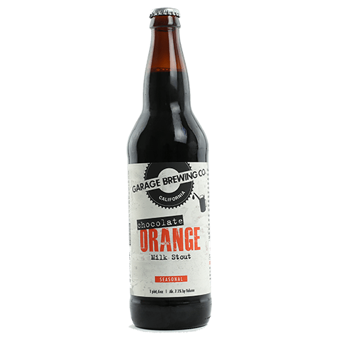 Garage Chocolate Orange Milk Stout