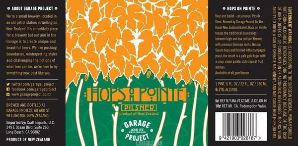 Garage Project Hops on Pointe
