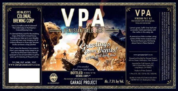 Garage Project Venusian Pale Ale