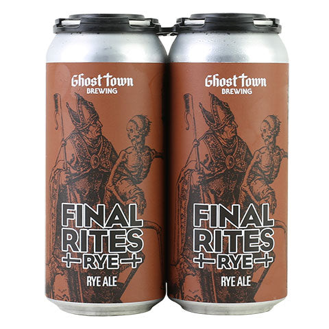 Ghost Town Final Rites Rye Ale