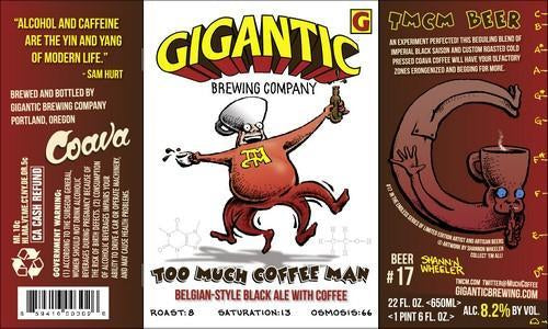Gigantic Too Much Coffee Man! Saison