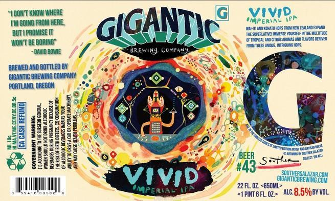 Gigantic VIVID Double IPA