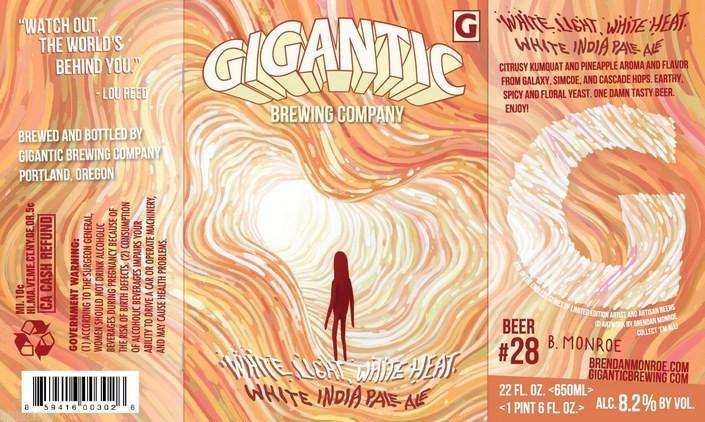 Gigantic White Light White Heat White IPA