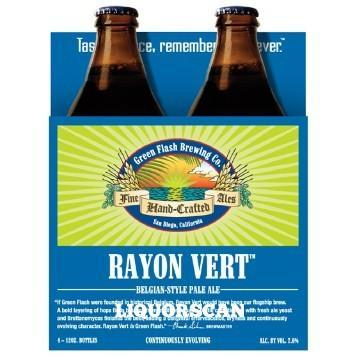 Green Flash Rayon Vert Belgian Pale Ale with Brett