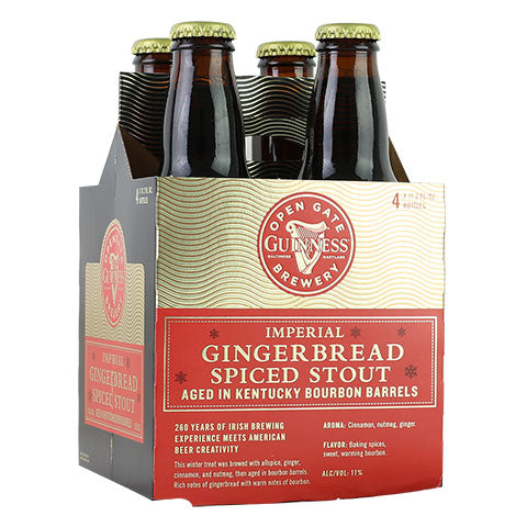 Guinness Bourbon Barrel-Aged Imperial Gingerbread Spiced Stout