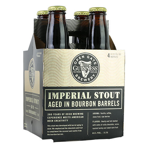 Guinness Imperial Stout Aged In Bourbon Barrels