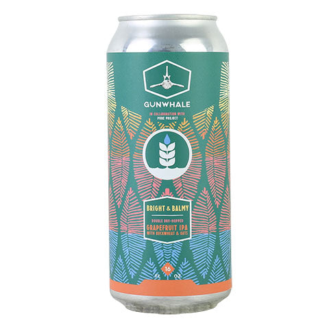 Gunwhales Bright & Balmy Double Dry-Hopped IPA