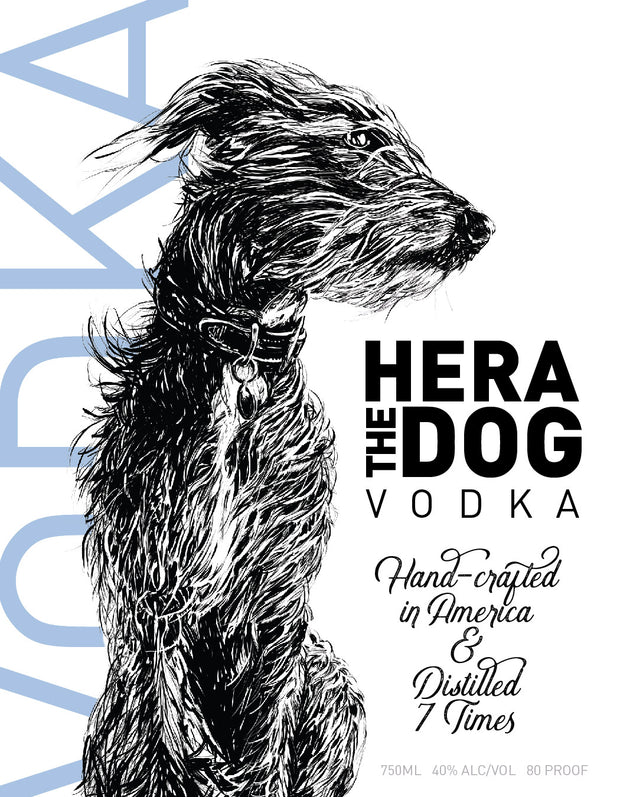 Hera The Dog Vodka