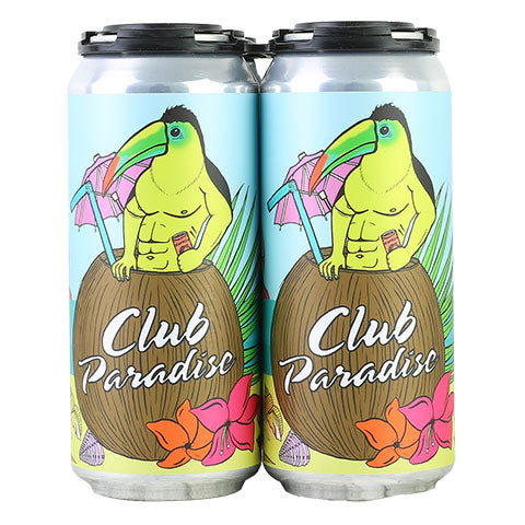 Hoof Hearted Club Paradise Imperial 'Tiki' Sour Ale