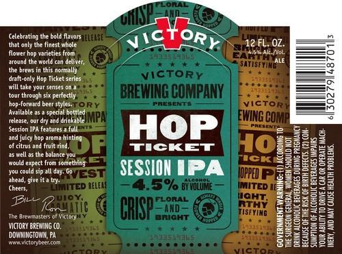 Victory Hop Ticket Session IPA