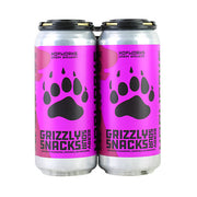 Hopworks Urban Brewery Grizzly Snacks Beery Sour