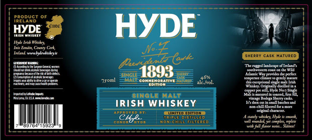 Hyde No.7: Single Malt Irish Whiskey