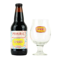 Prairie BOMB Imperial Stout with Glassware