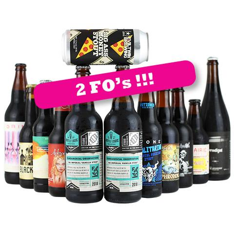 Stout Bundle Featuring Bottle Logic Fundamental Observation 2018 12PK