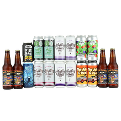 Juicy / Hazy Variety 18 Pack Feat. Bottle Logic Roots of Muir (SHIPPING INCL)