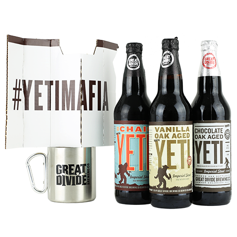 Great Divide Pack of Yetis Gift Pack