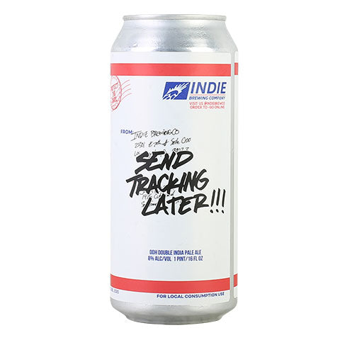 Indie Send Tracking Later Hazy DIPA
