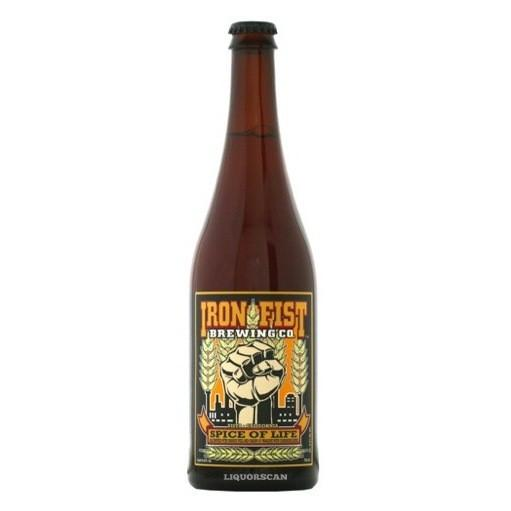 Iron Fist Spice of Life Ale