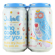 Jackie O's Who Cooks For You Hazy Pale Ale