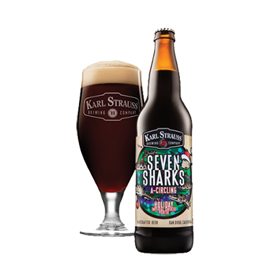 Karl Strauss Seven Sharks A-Circling Holiday-Imperial-Smoked-Porter