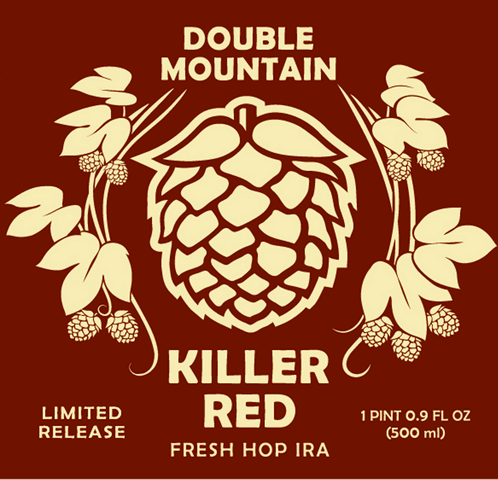 Double Mountain Killer Red Fresh Hop India Red Ale