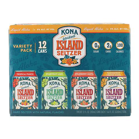 Kona Spiked Island Seltzer Variety Pack