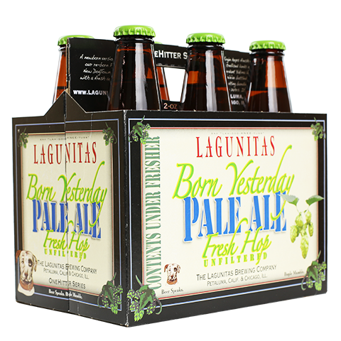 lagunitas-born-yesterday-fresh-hop-pale-aleLagunitas Born Yesterday Fresh Hop Pale Ale